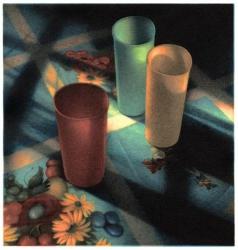 Cups in Sunlight