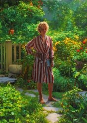 Nanny in the Garden
