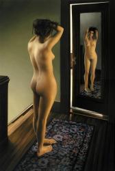 Mollye at the Mirror